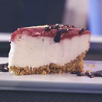 Cheesecake de Frutos Silvestres/Maracujá